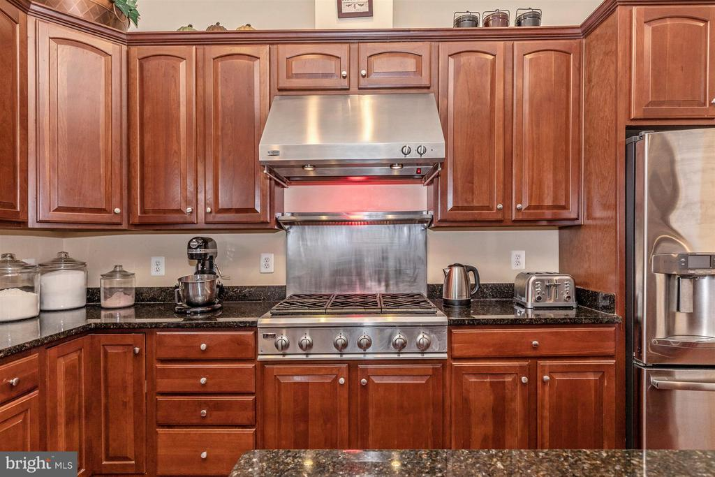 Fantastic warming shelf/light above cooktop - 4207 MARYLAND CT, MIDDLETOWN