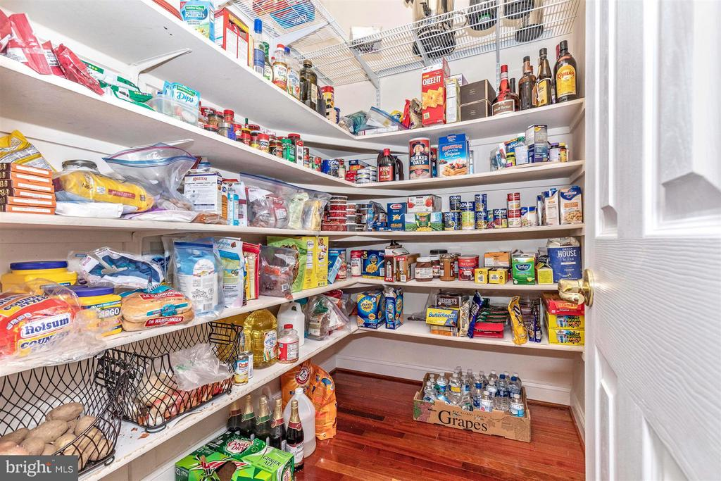 Huge pantry in kitchen offers loads of storage - 4207 MARYLAND CT, MIDDLETOWN