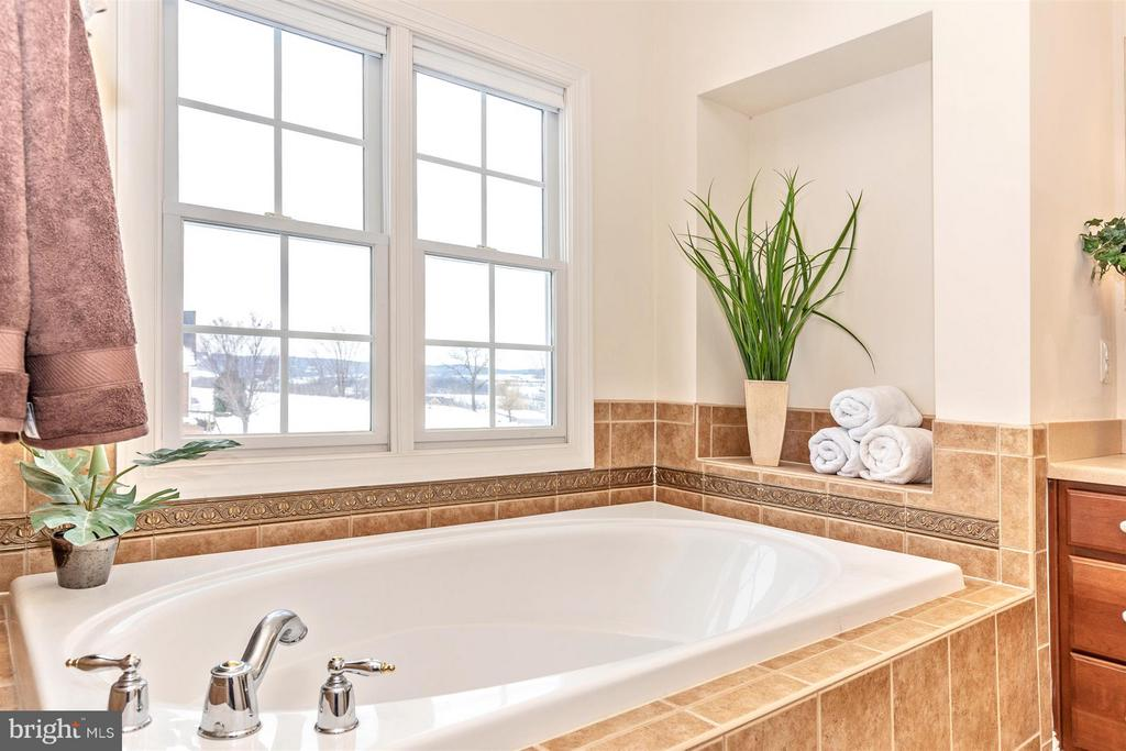 Relaxing soaking tub in master bath - 4207 MARYLAND CT, MIDDLETOWN