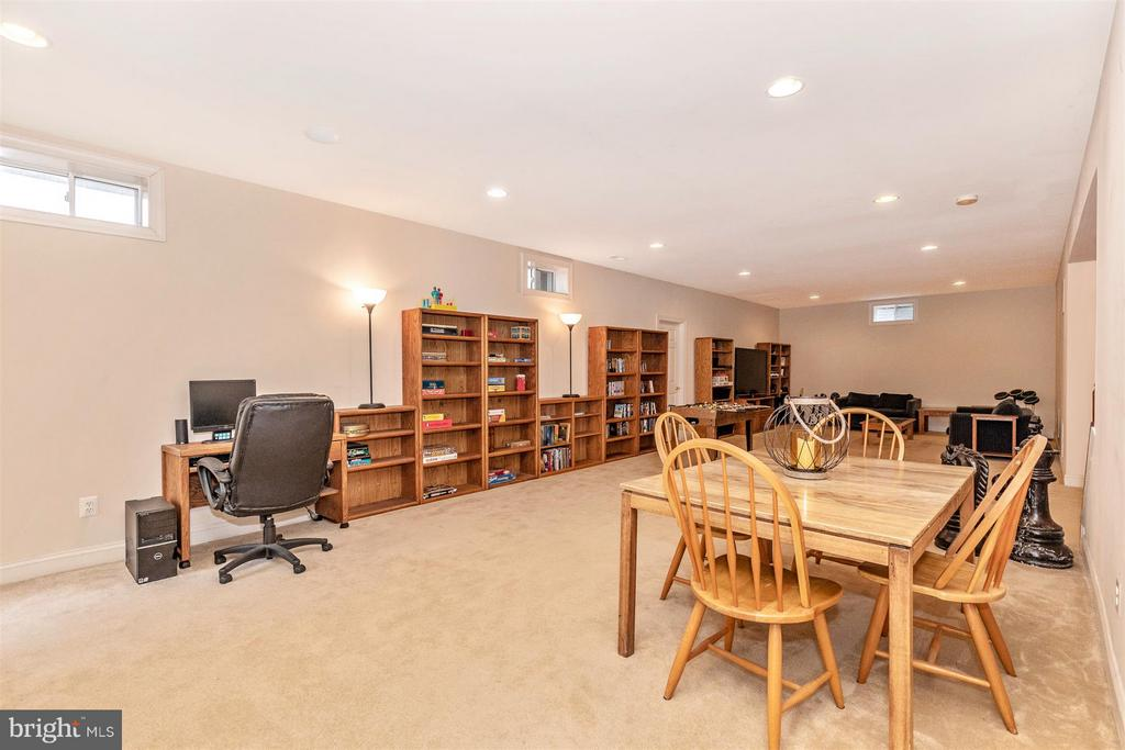 Another view of recreation room on lower level - 4207 MARYLAND CT, MIDDLETOWN