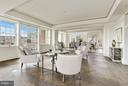 Tailored for Seamless Entertaining - 2660 CONNECTICUT AVE NW #3C, WASHINGTON