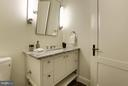 Powder Room - 2660 CONNECTICUT AVE NW #3C, WASHINGTON