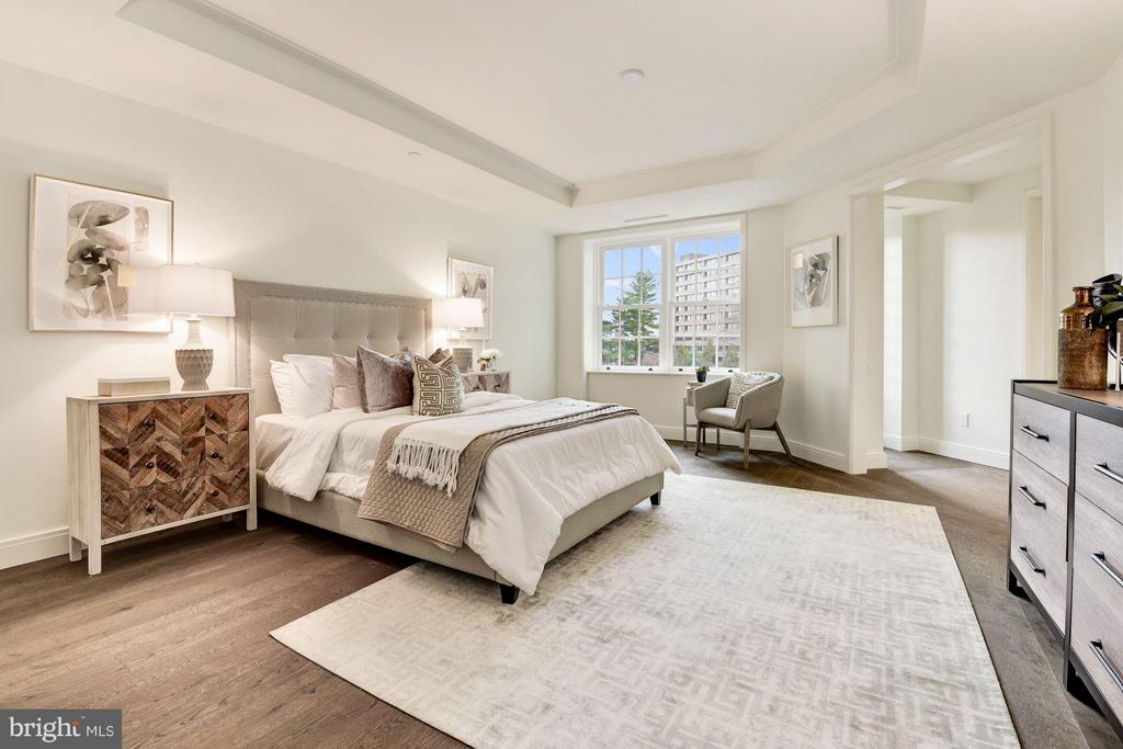Generous, Serene Master Suite - 2660 CONNECTICUT AVE NW #3C, WASHINGTON