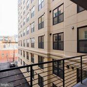 Balcony off of bedroom - 1427 RHODE ISLAND AVE NW #301, WASHINGTON