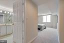 View of Master Bedroom/Master Bath - 5809 NICHOLSON LN #1011, NORTH BETHESDA