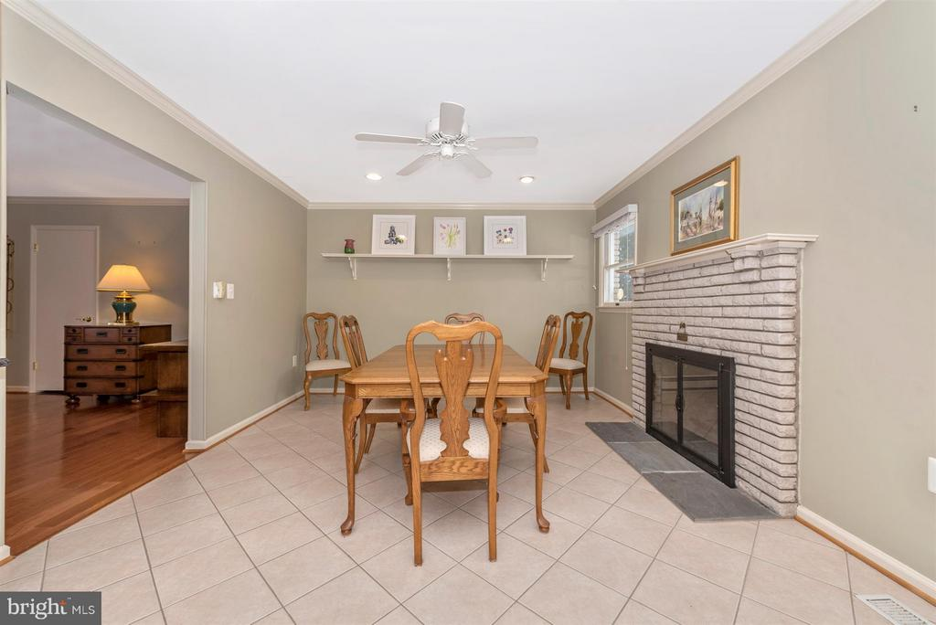 Dining Area - 7911 OPOSSUMTOWN PIKE, FREDERICK