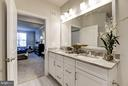 Faircourt Master Bathroom - 21007 ROCKY KNOLL SQ #103, ASHBURN