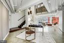 Office Area & Family Room - 2002 MASSACHUSETTS AVE NW #2A, WASHINGTON