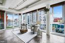 Charming Upper Level Sitting Area - 2002 MASSACHUSETTS AVE NW #2A, WASHINGTON
