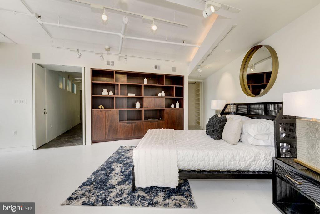 Master Bedroom - 2002 MASSACHUSETTS AVE NW #2A, WASHINGTON