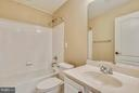 The lower level has a full bath too. - 21409 STURMAN PL, BROADLANDS