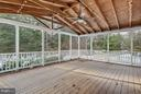 Huge screened porch - 21409 STURMAN PL, BROADLANDS