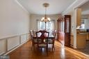 Large formal DR - 109 LAKE VIEW WAY NW, LEESBURG