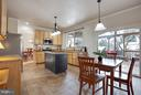 Large Eat in Kitchen - 109 LAKE VIEW WAY NW, LEESBURG