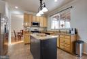Large Kitchen Island - 109 LAKE VIEW WAY NW, LEESBURG