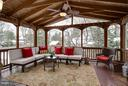 Large 3 season deck - 109 LAKE VIEW WAY NW, LEESBURG