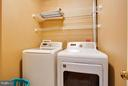 Bedroom Level Laundry Room - 109 LAKE VIEW WAY NW, LEESBURG