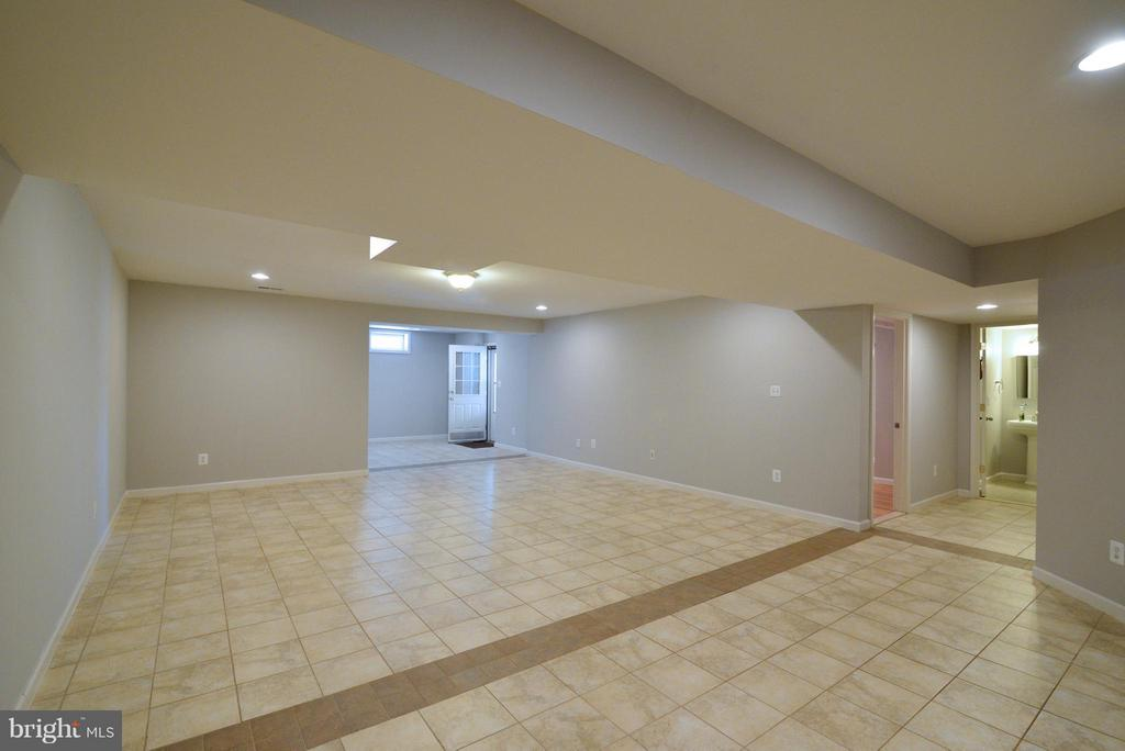 Full Finished Basement 2 - 10613 BUSICK CT, GAINESVILLE