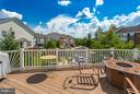 HUGE deck off main level -- walkout LL, too! - 20144 PRAIRIE DUNES TER, ASHBURN