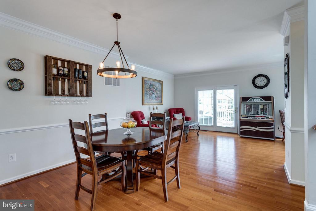 Formal dining room - 20144 PRAIRIE DUNES TER, ASHBURN