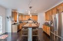 Kitchen - 1360 GRANT ST, HERNDON