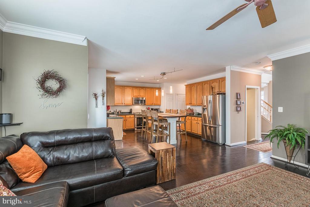 Family Room/Kitchen - 1360 GRANT ST, HERNDON