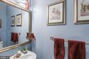 Main Level Powder Room - 1360 GRANT ST, HERNDON
