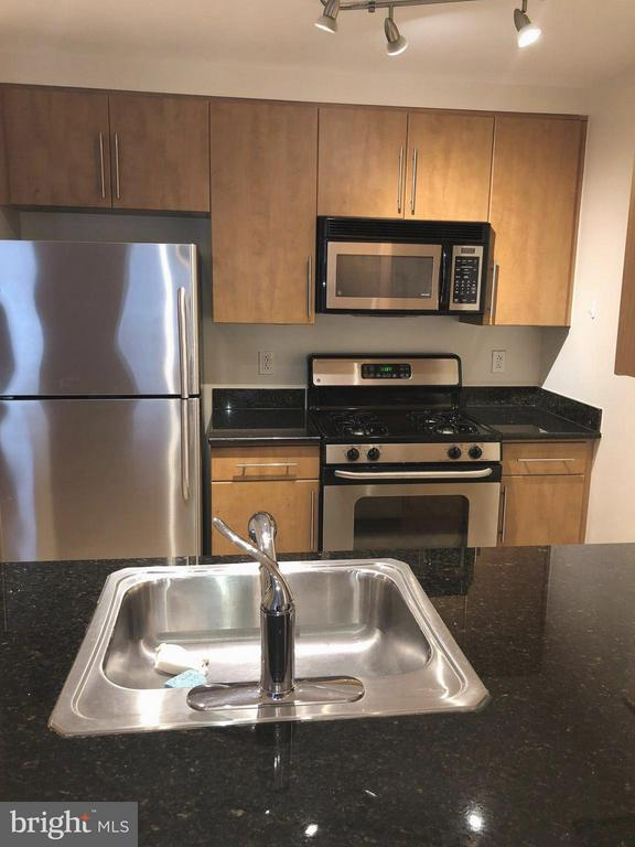 Spacious Kitchen with Stainless Appliances - 1021 N GARFIELD ST #118, ARLINGTON