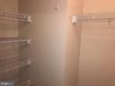 Walk-in Closet with Extra Storage - 1021 N GARFIELD ST #118, ARLINGTON