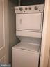 Washer/Dryer Closet - 1021 N GARFIELD ST #118, ARLINGTON