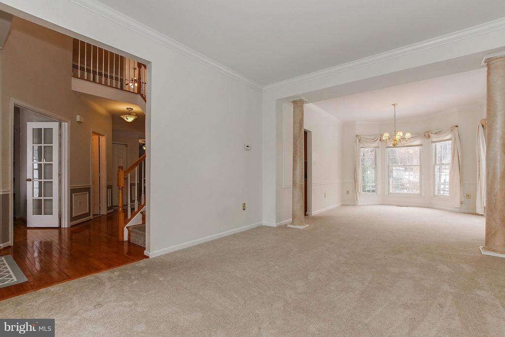 Living Room - 46611 KINGSCHASE CT, STERLING