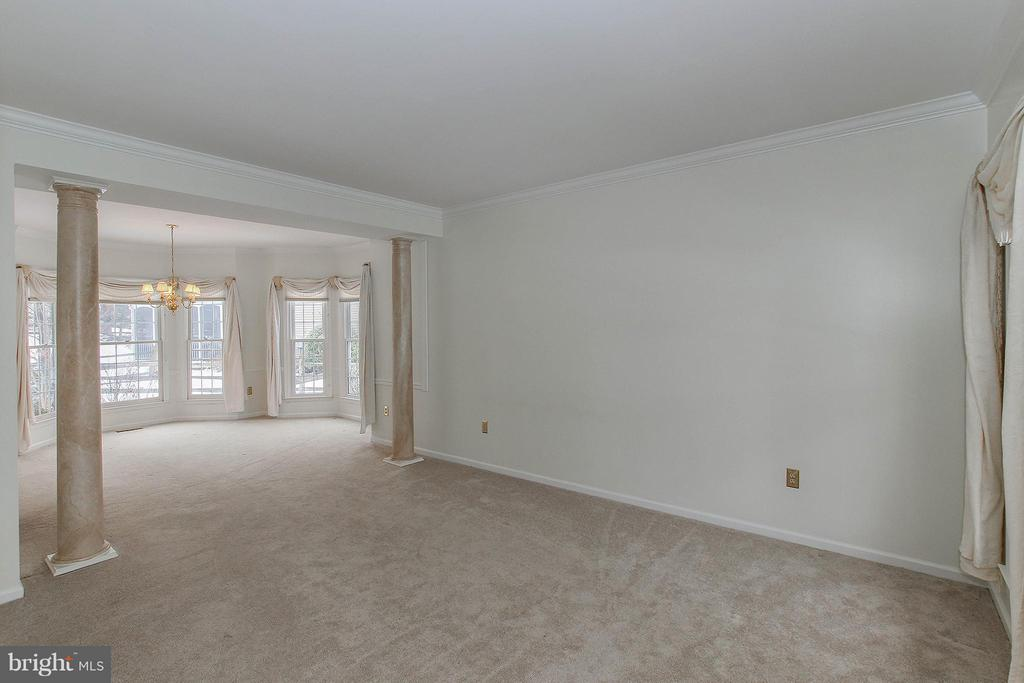 Dining and LIving Room - 46611 KINGSCHASE CT, STERLING