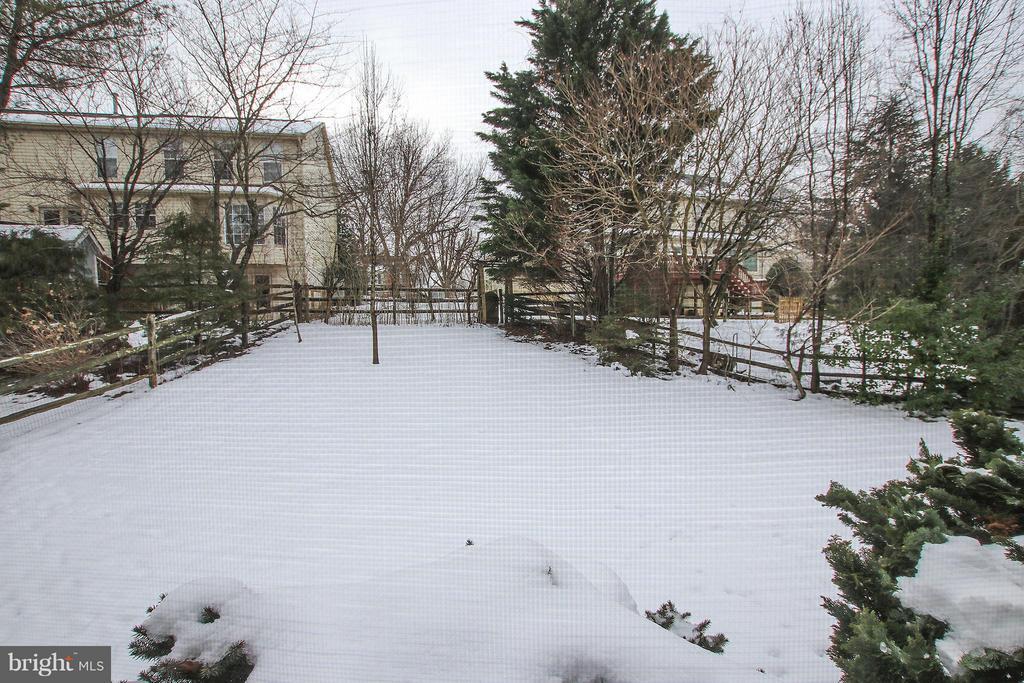 Backyard - 46611 KINGSCHASE CT, STERLING
