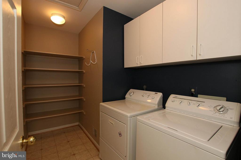 Upper Level Laundry Room - 46611 KINGSCHASE CT, STERLING