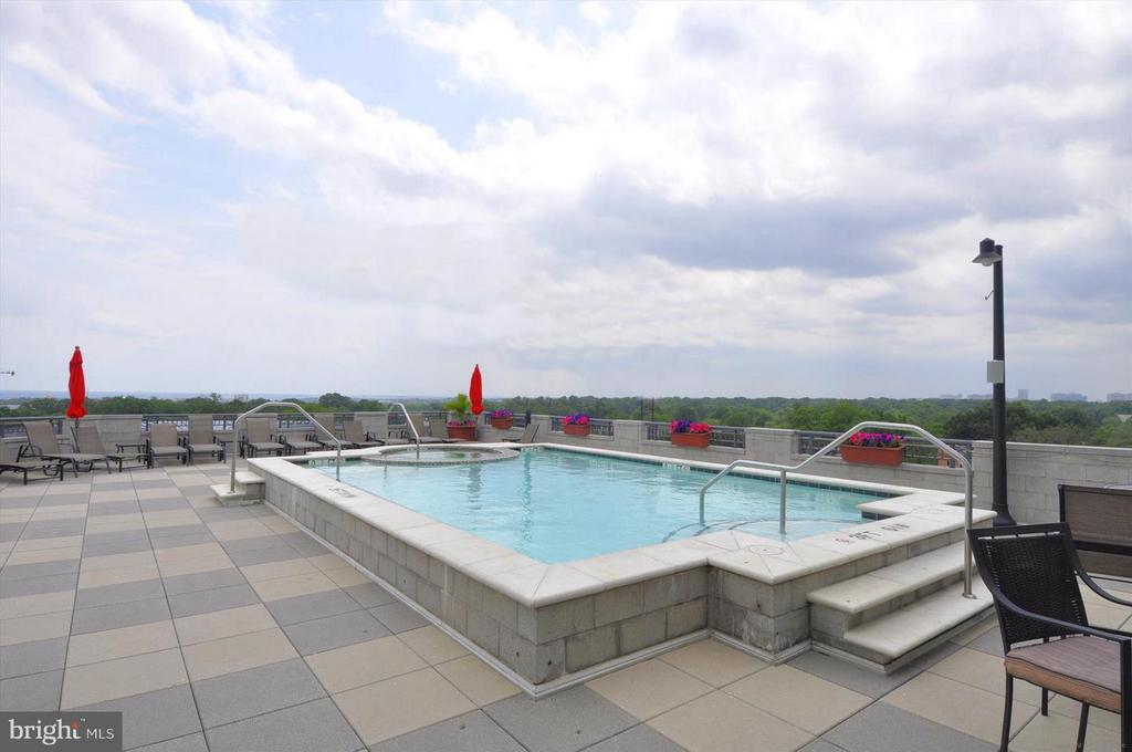 Roof Top Pool - 1021 N GARFIELD ST #118, ARLINGTON