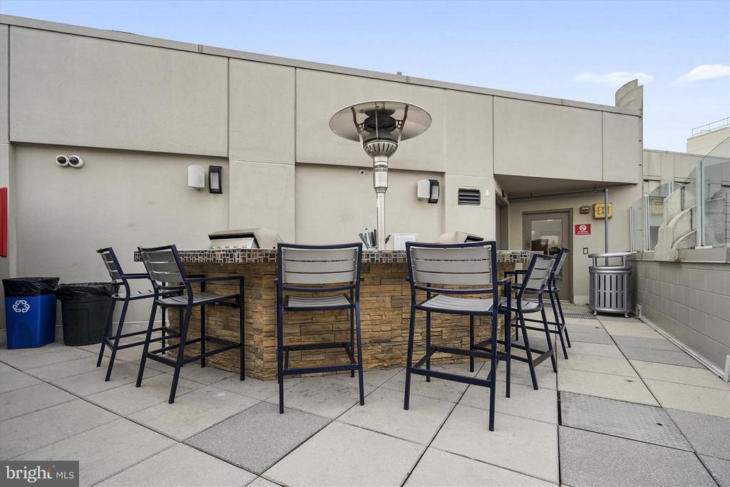 Roof Top Social Area - 1021 N GARFIELD ST #118, ARLINGTON