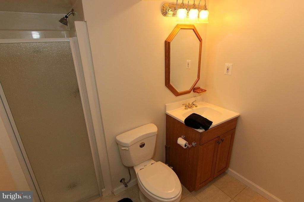 Full Bath in Basement - 46611 KINGSCHASE CT, STERLING