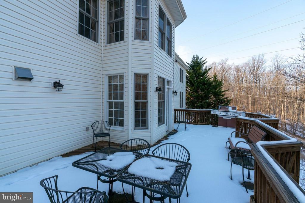 Second Level Deck - 8020 POHICK RD, SPRINGFIELD