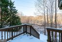 Lower Level Deck - 8020 POHICK RD, SPRINGFIELD
