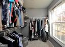 Great mater bedroom walk-in closet! - 2 CHARLESTON CT, STAFFORD