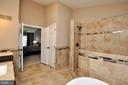 Spa like master bath. - 2 CHARLESTON CT, STAFFORD