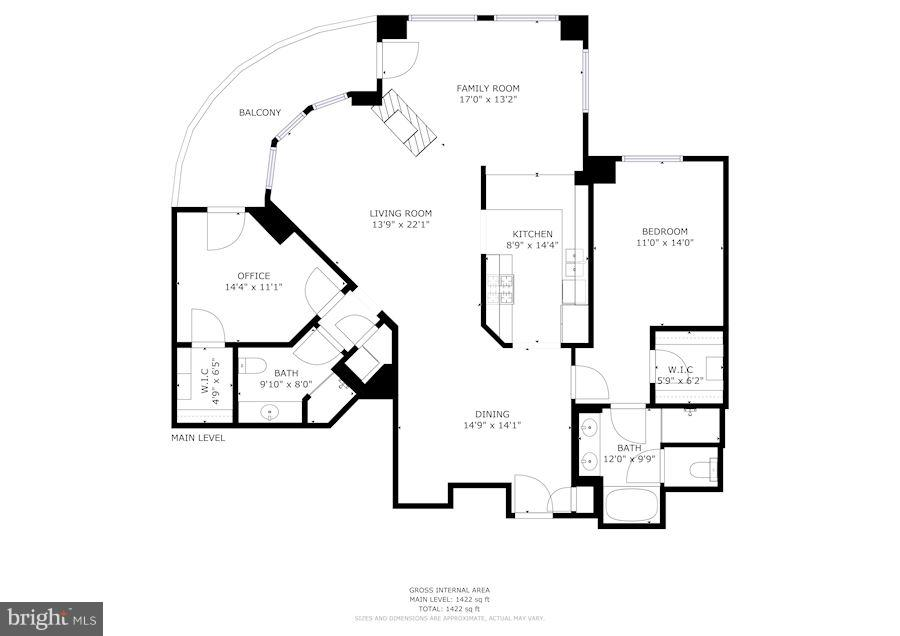 Floorplan - 11990 MARKET ST #913, RESTON