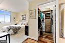 The master bedroom looks to the mountains! - 11990 MARKET ST #913, RESTON
