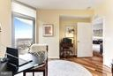 2nd Bedroom/Office leads to balcony - 11990 MARKET ST #913, RESTON