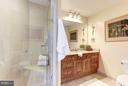 Private 2nd bath w/granite, ceramic tile, shower - 11990 MARKET ST #913, RESTON