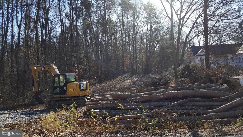 Gorgeous lot is now cleared & basemnt is going in! - 170 LITTLE WHIM, FREDERICKSBURG