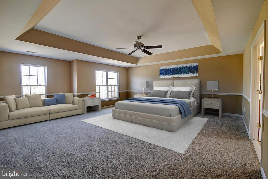 Master Bedroom - 25804 SPRING FARM CIR, CHANTILLY