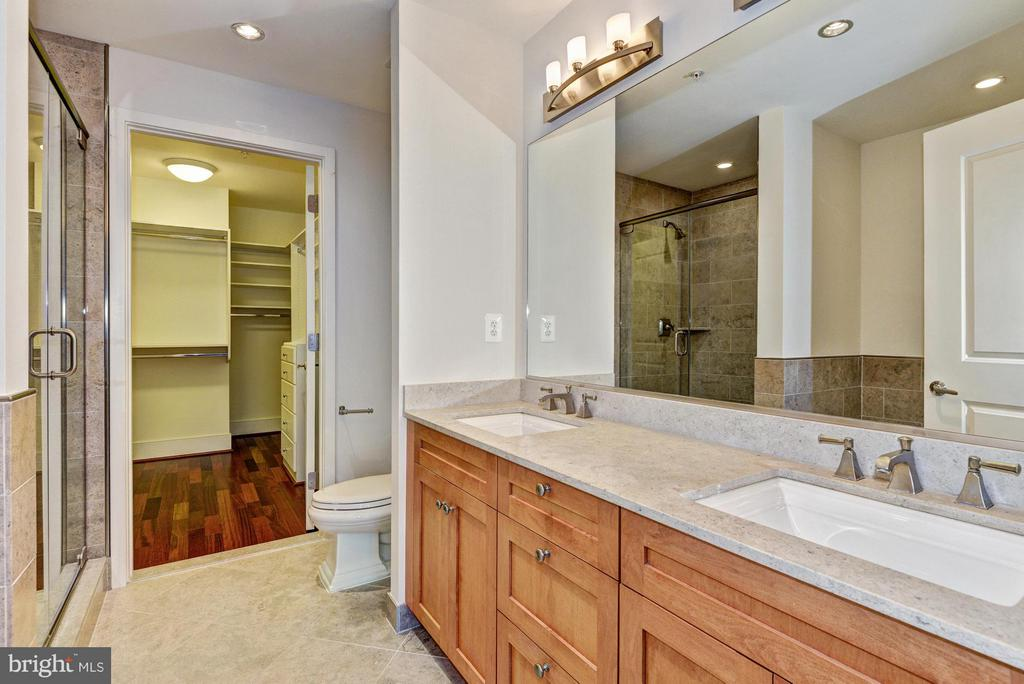 Master Bath with Separate Tub and Shower - 4301 MILITARY RD NW #204, WASHINGTON