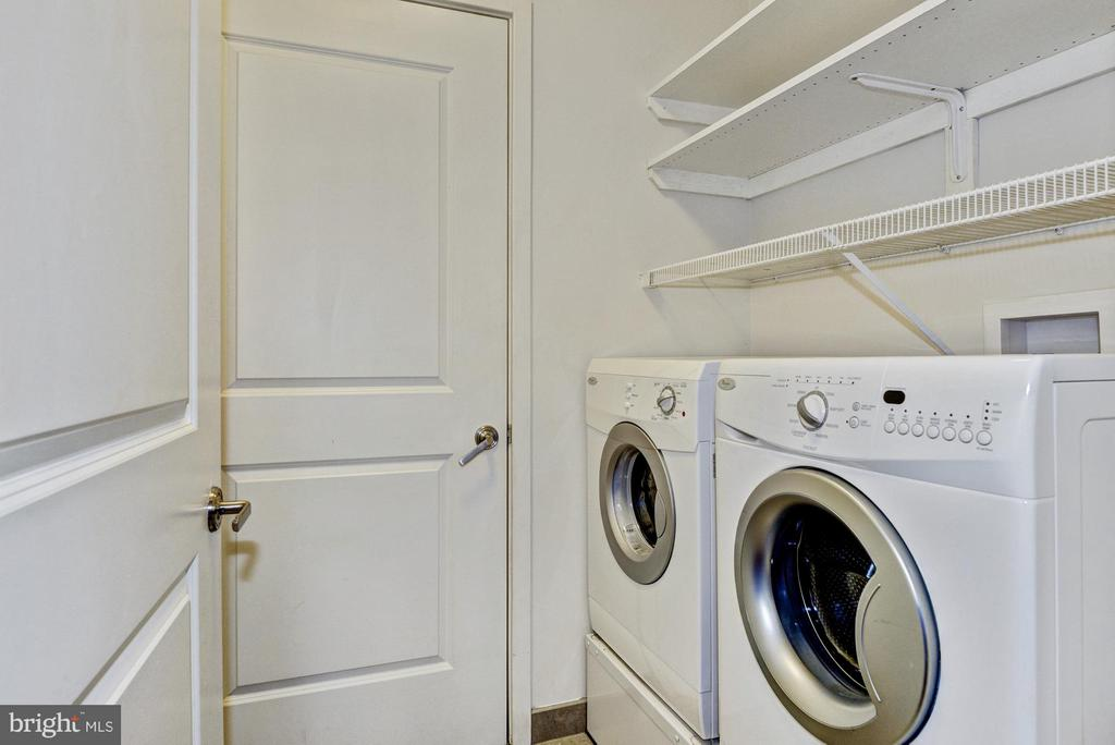 Laundry and Storage Located off the Kitchen - 4301 MILITARY RD NW #204, WASHINGTON