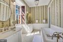 Owner BA w/ Tub, Separate Shower, Dual Vanities - 607 ORONOCO ST, ALEXANDRIA